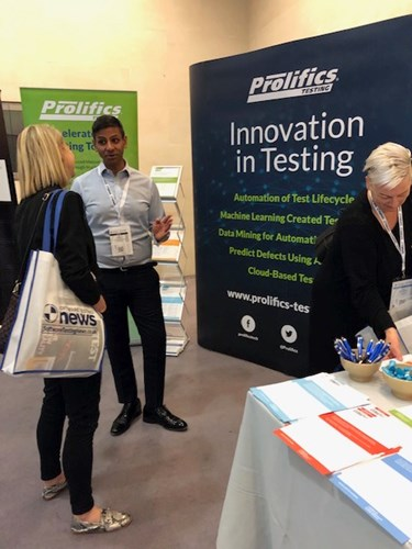 National Software Testing Conference 2019 - Prolifics Testing stand