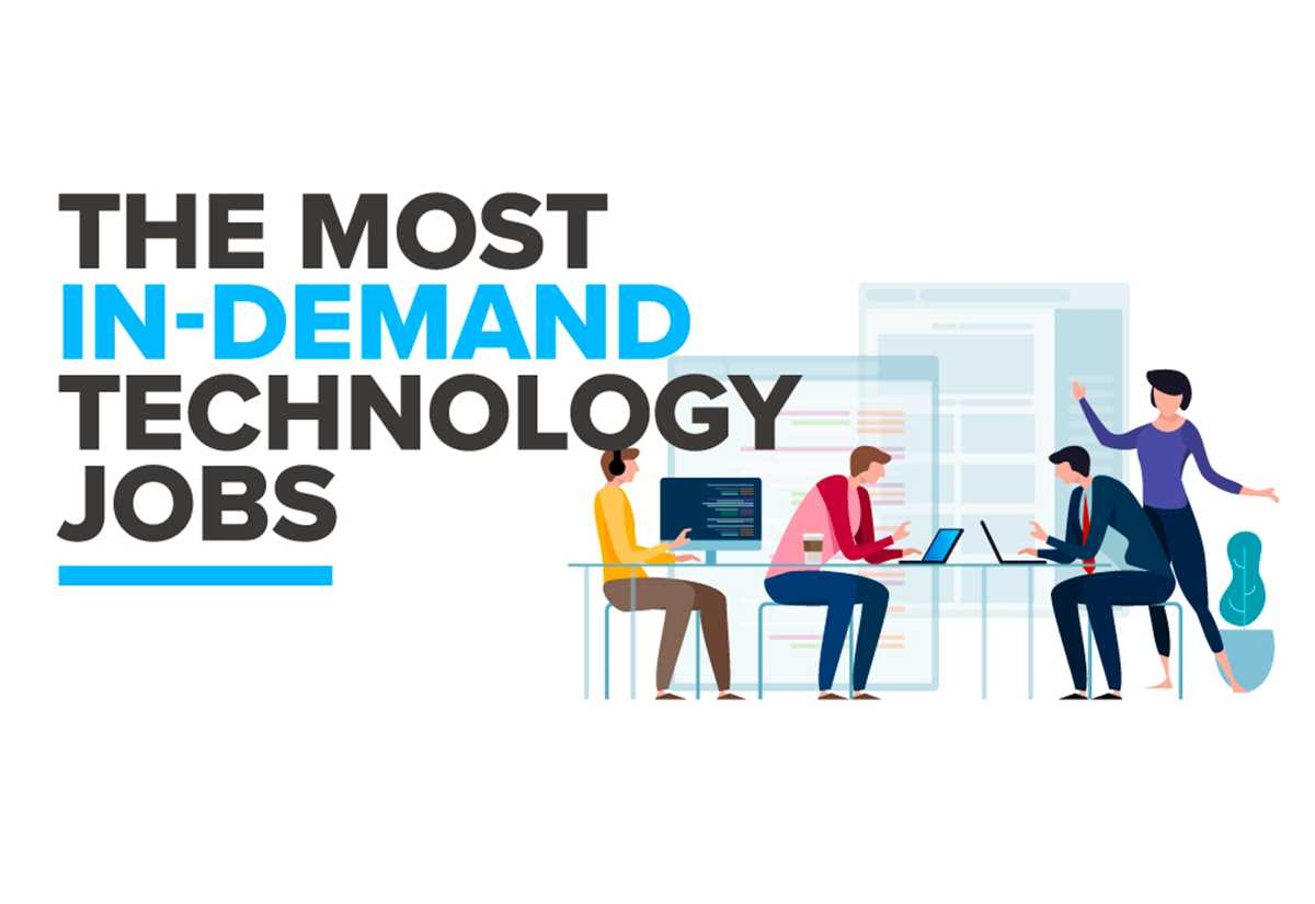 The Most In-Demand Technology Jobs