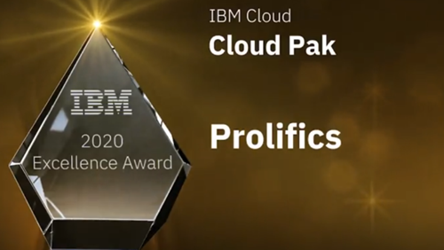 IBM Cloud Excellence Award: Cloud Pak